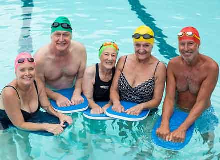 acquabenessere ginnastica in acqua per terza età valdobbiadene treviso