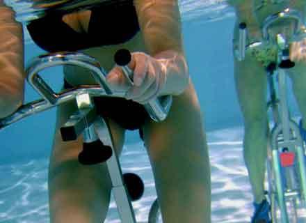 hidrobike bicicletta in acqua piscine valdobbiadene treviso