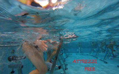 Attrezzi Liberi: Prova i nostri attrezzi al nuoto libero
